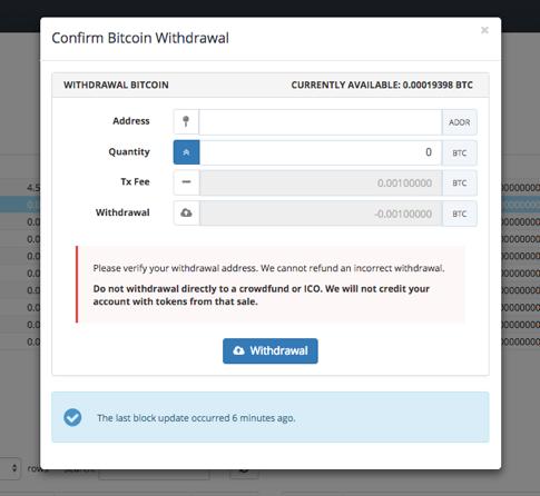 kaip prekiauti bitcoin iš coinbazės iki bittrex bitcoin minimalus indėlis