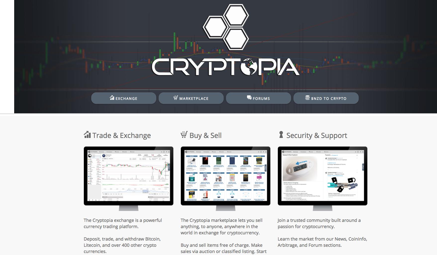 Cryptocurrencies traden