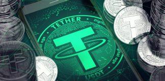 tether digitale munt gekoppeld aan dollar