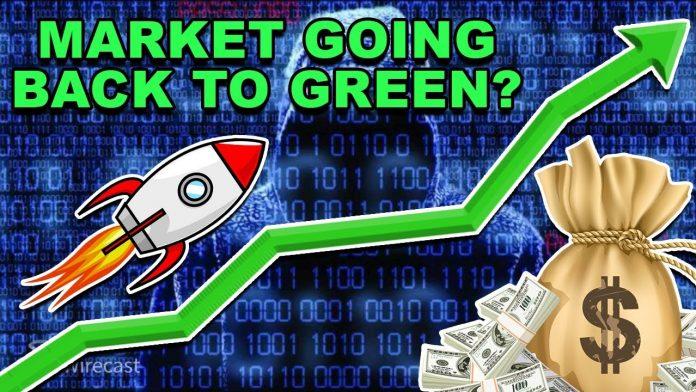 cryptomarkt terug naar groen