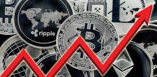 sterke stijging cryptomarkt
